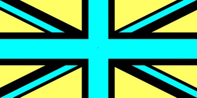 union jack afterimage flag optical illusions colors british illusion afterimages moillusions effect canadian coloured correctly seeing test colorblind blank inverse